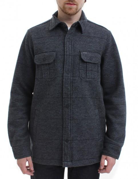 Hurley Brick Button Up fleece lined shirt - Black