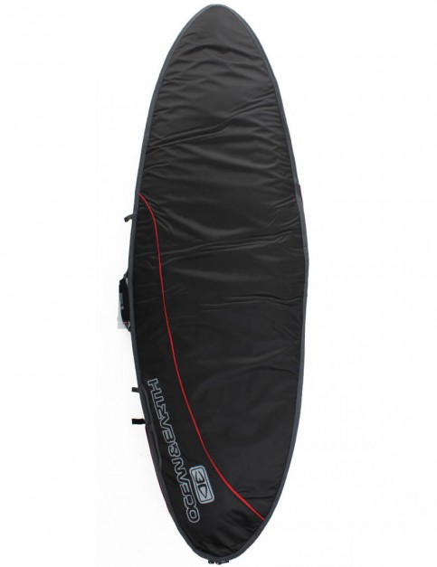 Ocean & Earth Aircon Fish 10mm Surfboard Bag 5ft 8 - Black/Red