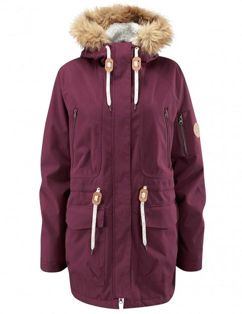 Westbeach Ladies Kasba Parka snowboard jacket - Auburn