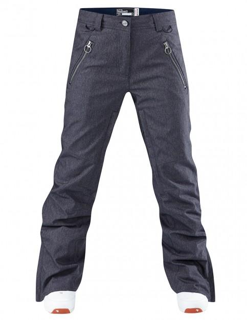 Westbeach Ladies Taylor snowboard pants - Indigo Denim