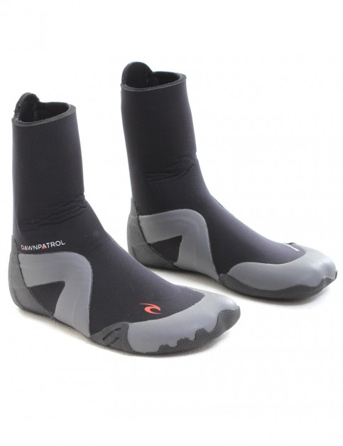 Rip Curl Dawn Patrol Round Toe 5mm Wetsuit Boots - Black