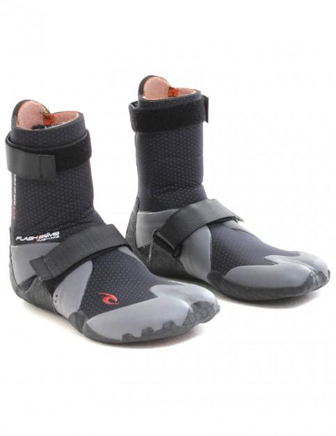 Rip Curl Flash Bomb Hidden Split Toe 5mm Wetsuit Boots - Black